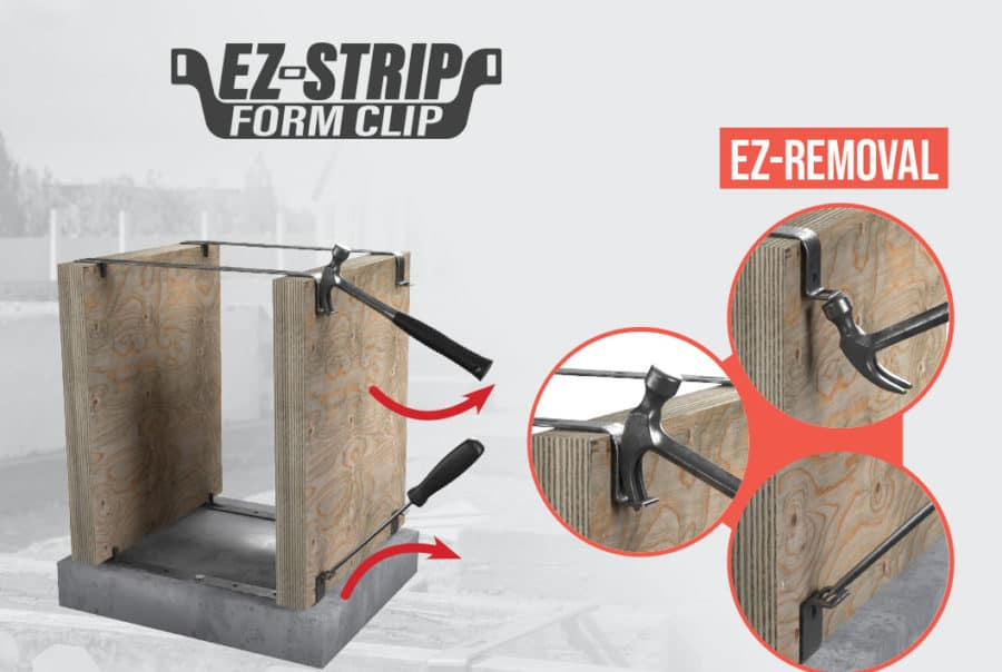 EZ-Strip Form Clips