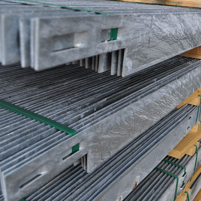 Hot Dipped Galvanized Duraedge Steel Edging The J D